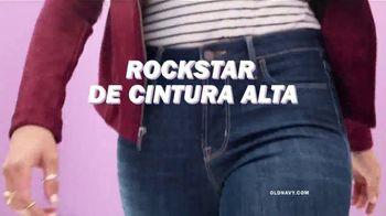 Old Navy High-Rise Rockstar TV Spot, 'Dile hola a los jeans de cintura alta' canción de Janelle Monáe [Spanish] - Thumbnail 2