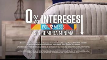 Ashley HomeStore Lowest Prices of the Season TV Spot, 'Camas, sofás y reclinables' canción de Midnight Riot [Spanish] - Thumbnail 8
