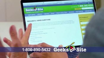 Geeks on Site TV Spot, 'Anywhere' - Thumbnail 7