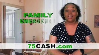 75cash.com TV Spot, 'Fast Cash for Any Reason'