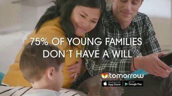 Tomorrow TV Spot, 'Creating Your Will' - Thumbnail 3