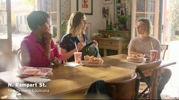 Popeyes Cajun Sparkle Boneless Wings & Tots TV Spot, 'Cajun Sparkle' - Thumbnail 1