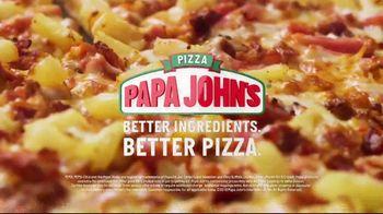 Papa John's Super Hawaiian Pizza TV Spot, 'Say Aloha' Song by The Ventures - Thumbnail 10