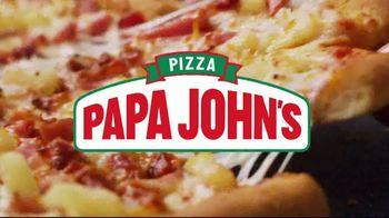 Papa John's Super Hawaiian Pizza TV Spot, 'Say Aloha' Song by The Ventures - Thumbnail 2