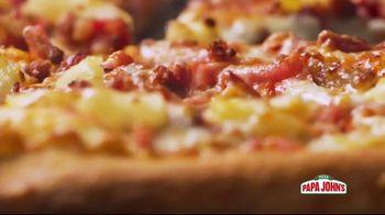 Papa John's Super Hawaiian Pizza TV Spot, 'Say Aloha' Song by The Ventures - Thumbnail 5