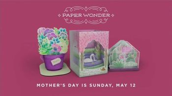 Hallmark Paper Wonder TV Spot, 'Mother's Day: See What a Card Can Do' - Thumbnail 10