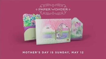 Hallmark Paper Wonder TV Spot, 'Mother's Day: See What a Card Can Do' - Thumbnail 9