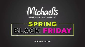 Michaels Spring Black Friday Sale TV Spot, 'All Week Long' - Thumbnail 7