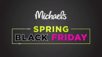 Michaels Spring Black Friday Sale TV Spot, 'All Week Long' - Thumbnail 1