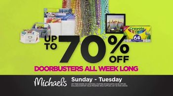 Michaels Spring Black Friday Sale TV Spot, 'All Week Long' - Thumbnail 4