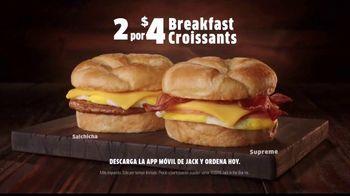 Jack in the Box Breakfast Croissants TV Spot, 'Mediocre' [Spanish] - Thumbnail 7