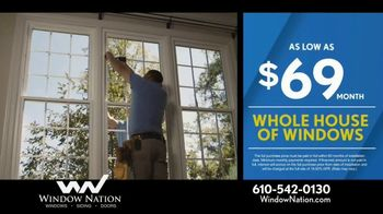Window Nation 50 Percent Off Sale TV Spot, 'All Style Windows & Free Blinds' - Thumbnail 5