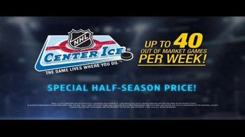 DIRECTV NHL Center Ice TV Spot, 'Ease Your Pain: Half-Season Price'