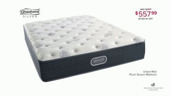 Winter Mattress Sale: Urban Mist Plush Queen Mattress thumbnail