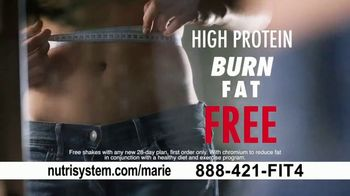 Nutrisystem FreshStart TV Spot, 'Long Term Solution: Free Shakes' Featuring Marie Osmond - Thumbnail 9