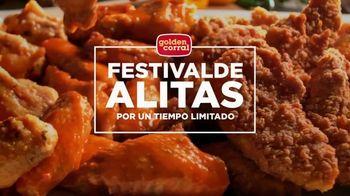 Golden Corral Festival de Alitas TV Spot, 'Algo para todos' [Spanish]