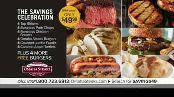 Omaha Steaks Savings Celebration Package TV Spot, '100 Years in the Making' - Thumbnail 4