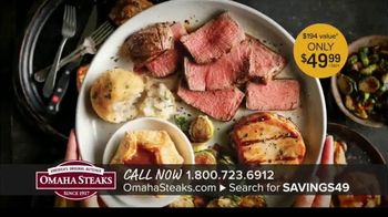 Omaha Steaks Savings Celebration Package TV Spot, \'100 Years in the Making\'