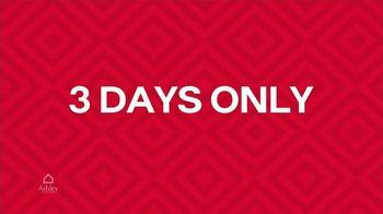 Ashley HomeStore TV Spot, 'Three Days Only' - Thumbnail 6