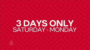 Ashley HomeStore TV Spot, 'Three Days Only' - Thumbnail 7