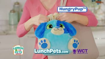Lunch Pets TV Spot, 'Lunch Box and Cute Plush Combo' - Thumbnail 9