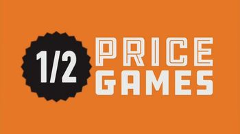 Dave and Buster's TV Spot, 'Half Price Games: Sunday-Thursday After 9 p.m.'