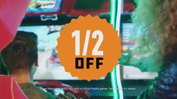 Dave and Buster's TV Spot, 'Half Price Games: Sunday-Thursday After 9 p.m.' - Thumbnail 6