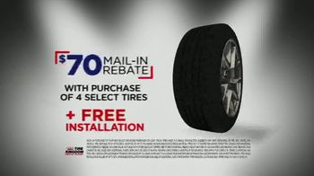 Tire Kingdom Big Brands Bonus Month TV Spot, 'Michelin Tire Rebate' - Thumbnail 6