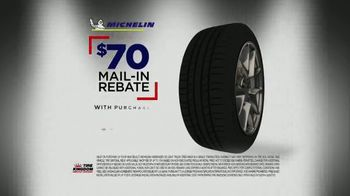 Tire Kingdom Big Brands Bonus Month TV Spot, 'Michelin Tire Rebate' - Thumbnail 9
