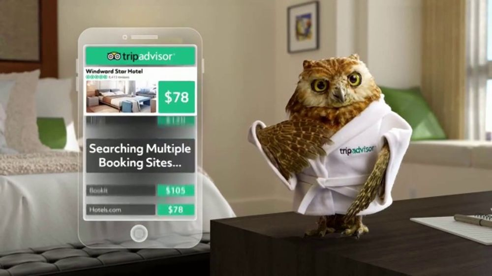 TripAdvisor TV Commercial, 'The Same Hotel Room'