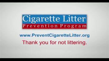 Cigarette Litter Prevention Program TV Spot, 'Keep America Beautiful' - Thumbnail 9