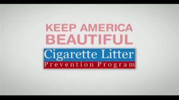 Cigarette Litter Prevention Program TV Spot, 'Keep America Beautiful' - Thumbnail 8