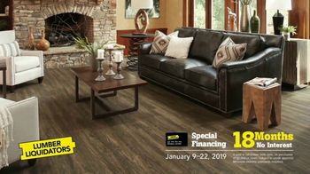 Lumber Liquidators TV Spot, 'Martin Luther King Day' - Thumbnail 9