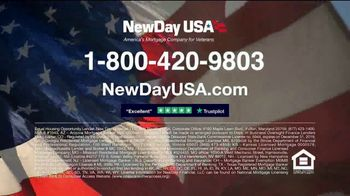 NewDay USA VA Cash Out Home Loan TV Spot, 'Fantastic News: Now's the Time' - Thumbnail 9