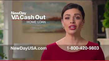 NewDay USA VA Cash Out Home Loan TV Spot, 'Fantastic News: Now's the Time'