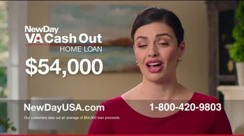 NewDay USA VA Cash Out Home Loan TV Spot, 'Fantastic News: Now's the Time' - Thumbnail 4