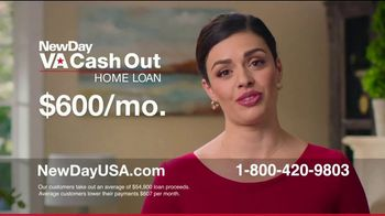 NewDay USA VA Cash Out Home Loan TV Spot, 'Fantastic News: Now's the Time' - Thumbnail 5