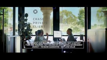 Chase Private Client TV Spot, 'Plan Yourself Free' - Thumbnail 1