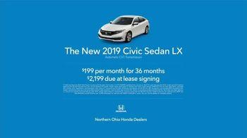 2019 Honda Civic TV Spot, 'Life is Better: Pour Cleveland' [T2] - Thumbnail 9
