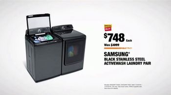 The Home Depot TV Spot, 'More: Samsung Activewash Laundry Pair' - Thumbnail 9