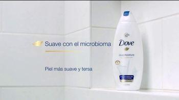 Dove Deep Moisture Body Wash TV Spot, 'Suave con el microbioma' [Spanish] - Thumbnail 8