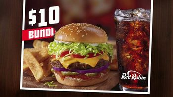 Red Robin $10 Bundle TV Spot, 'Gourmet Burgers' - Thumbnail 2