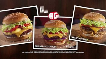 Red Robin $10 Bundle TV Spot, 'Gourmet Burgers' - Thumbnail 3