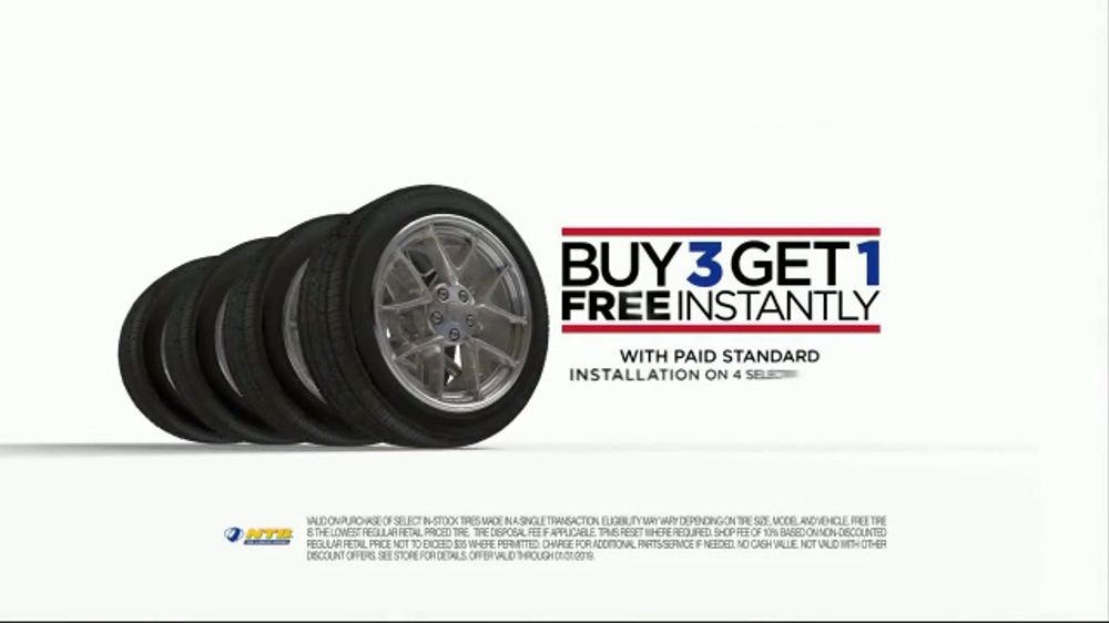 National Tire & Battery TV Commercial, 'Oil Change and Tire Deal'