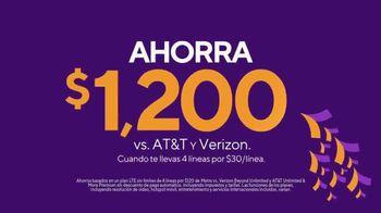 Metro by T-Mobile TV Spot, 'La nutria marina que hace abdominales' canción de Usher [Spanish] - Thumbnail 4
