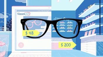 GlassesUSA.com TV Spot, 'Only Pay for Glasses' - Thumbnail 1