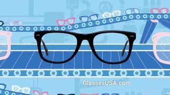 GlassesUSA.com TV Spot, 'Only Pay for Glasses'