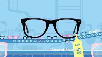 GlassesUSA.com TV Spot, 'Only Pay for Glasses' - Thumbnail 3