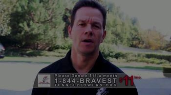 Stephen Siller Tunnel to Towers Foundation TV Spot, 'Mortgage-Free Homes' Featuring Mark Wahlberg - Thumbnail 1