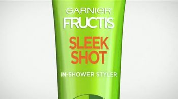 Garnier Fructis Sleek Shot TV Spot, 'Skip the Flat Iron' Song by Mark Ronson, Bruno Mars - Thumbnail 10